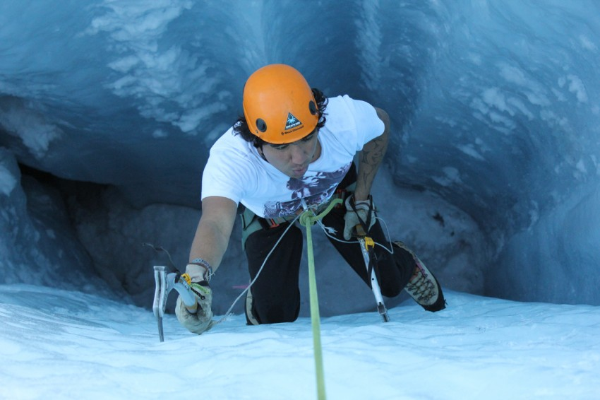 Balmers ice climbing interlaken