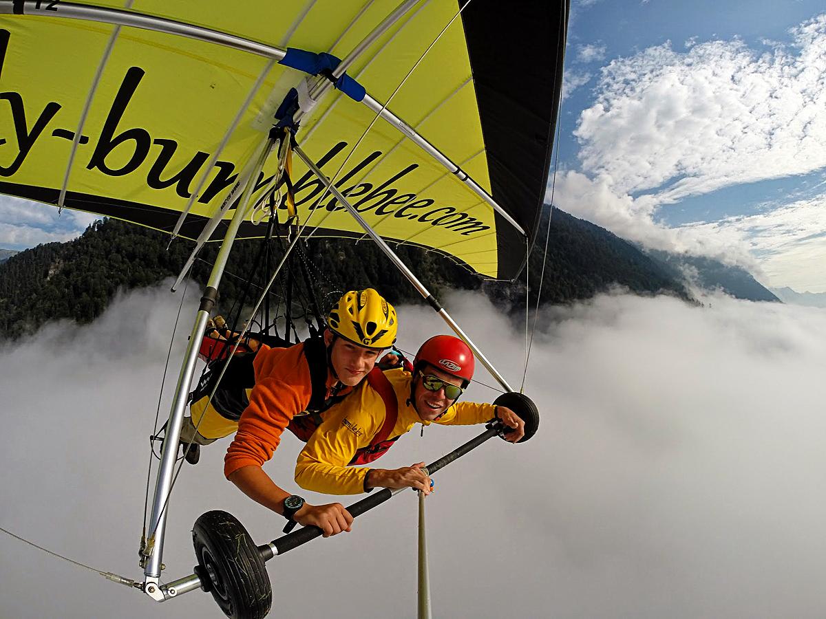 Hanggliding Tandemflights - Best outdoor activities, Interlaken