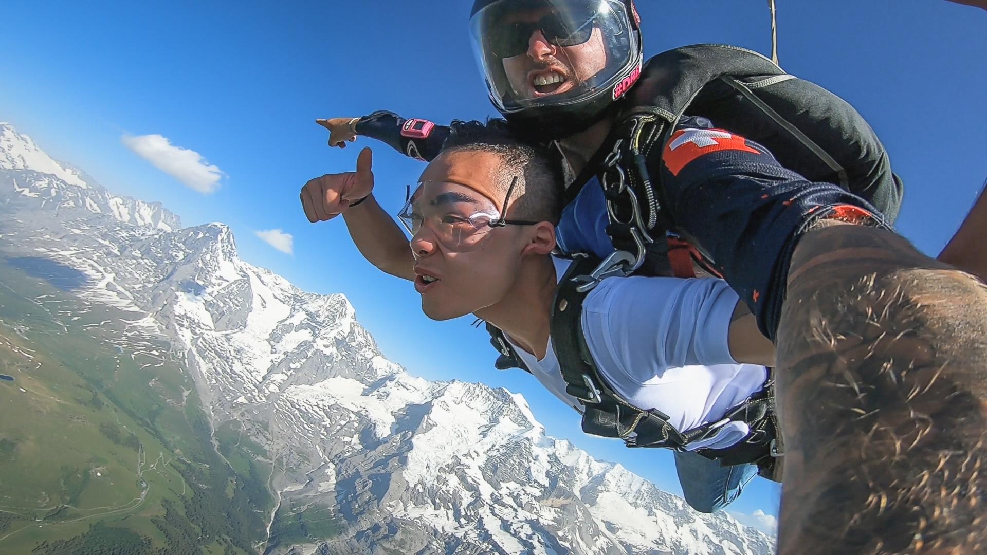 5 أنشطة سياحية يمكن القيام بها في سكاي ديف في انترلاكن سويسرا