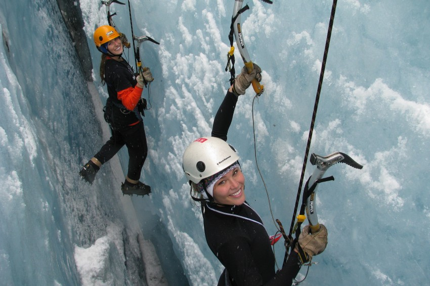 Summer Ice Climbing