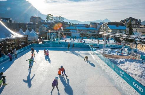 top of europe ice magic balmers hostel camping nightclub