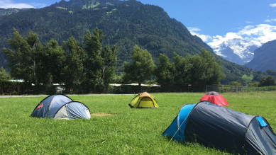 Balmers Interlaken Pitch your tent