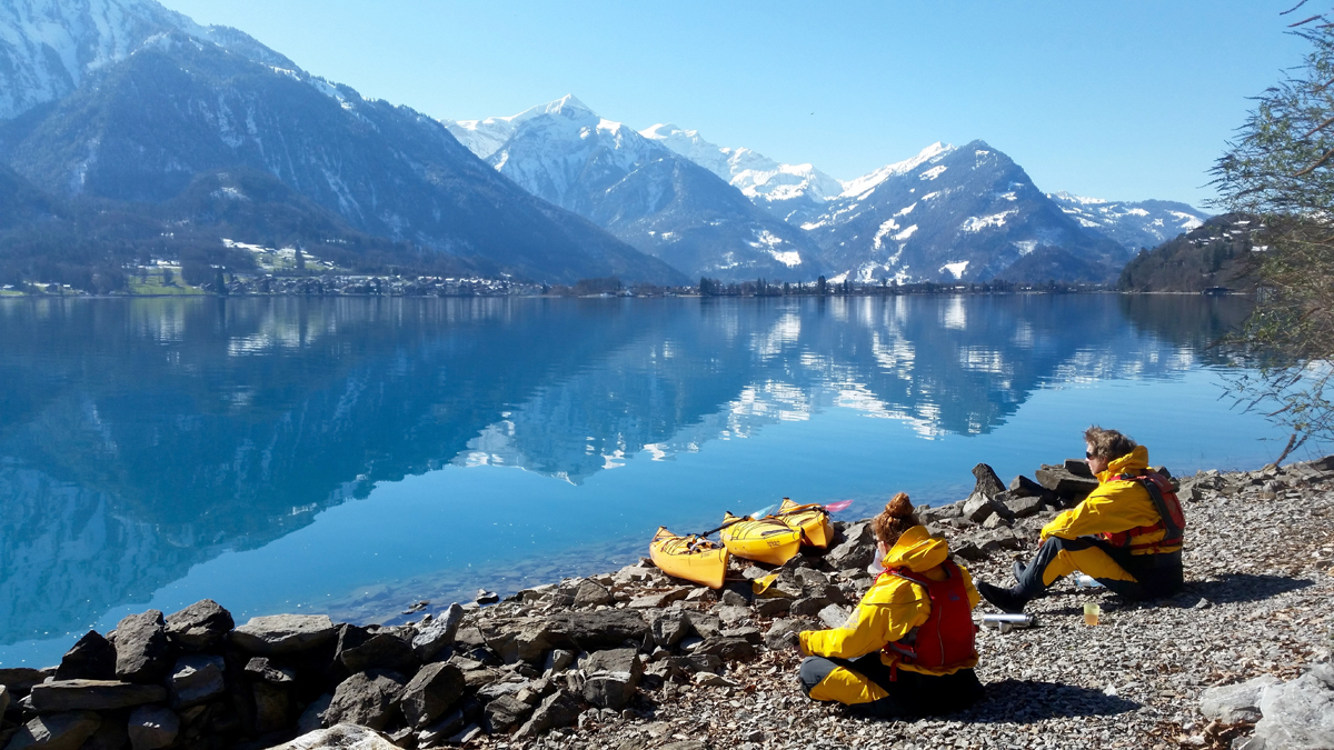 Winter Kayak Tours Best Outdoor Activities Interlaken