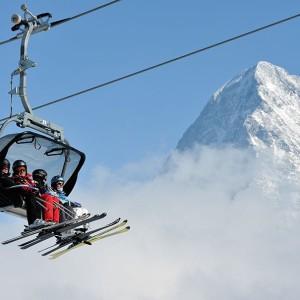 Try to ski & visit Mürren Schilthorn