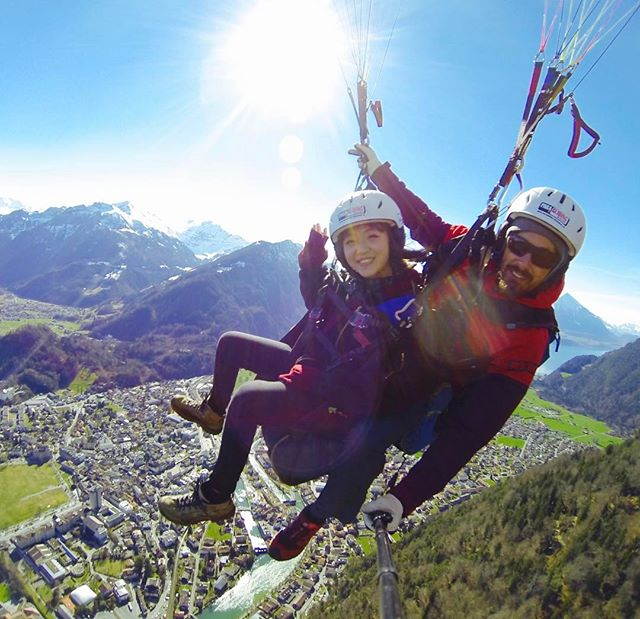 summer activities interlaken paragliding
