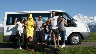 Happy Banana Bus