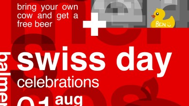 Swiss Day Poster New